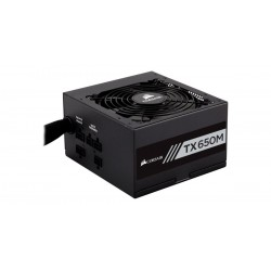 Corsair CP-9020132-EU TX-M Series TX650M - 650 Watt 80 Plus Gold Certified PSU (EU)