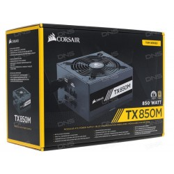 Corsair CP-9020130-UK TX-M Series TX850M - 850 Watt 80 Plus  Gold Certified PSU (UK)