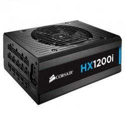 Corsair CP-9020070-EU HXi Series HX1200i High-Performance ATX Power Supply-1200 Watt 80 Plus Platinum Certified PSU (EU Plug)