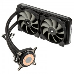 Corsair CW-9060027-WW Hydro Series H115i 280mm Extreme Performance Liquid CPU Cooler
