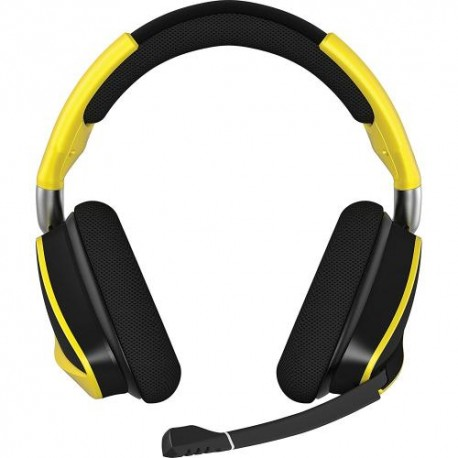 Corsair CA-9011150-AP VOID PRO RGB Wireless SE Premium Gaming Headset with Dolby Headphone 7.1-Yellow (AP)
