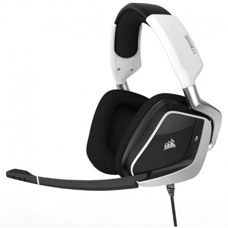Corsair CA-9011155-NA VOID PRO RGB USB Premium Gaming Headset with Dolby Headphone 7.1-White