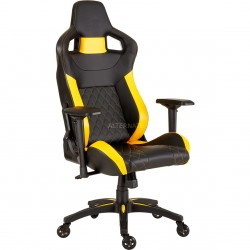 Corsair CF-9010015-WW T1 RACE 2018 Gaming Chair-Black/Yellow
