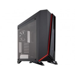 Corsair CC-9011121-WW Carbide Series Spec-Omega Tempered Glass Mid-Tower ATX Gaming Case -Black