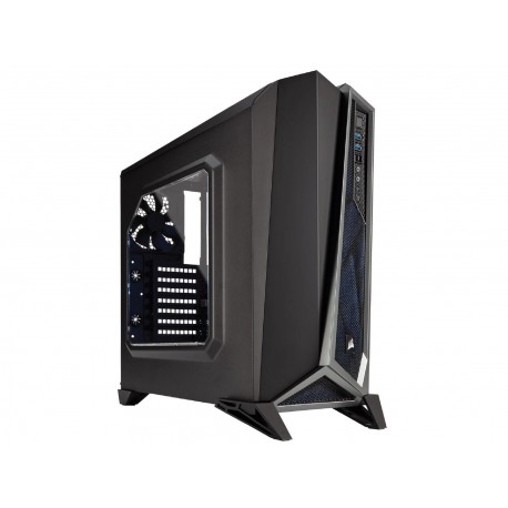 Corsair CC-9011084-WW Carbide Series Spec-Alpha Mid-Tower Gaming Case-Black/Silver