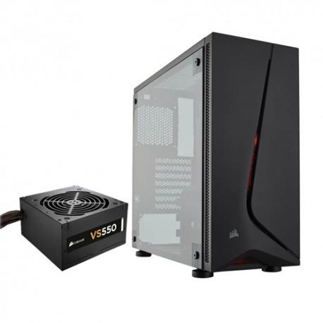 Corsair CC-9011138-WW Carbide Series SPEC-05 Mid-Tower Gaming Case-Black
