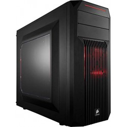 Corsair CC-9011051-WW Carbide Series SPEC-02 Red LED Mid-Tower Gaming Case
