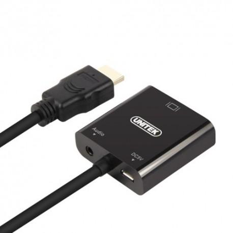 Unitek Y-6333 HDMI to VGA Converter With audio