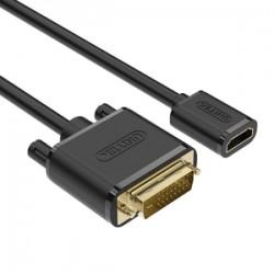 Unitek YC249BK DVI-D to HDMI Converter