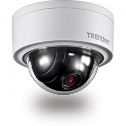 Trendnet TV-IP420P Indoor / Outdoor 3 MP Motorized PTZ Dome Network Camera