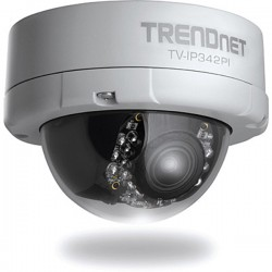 Trendnet TV-IP342PI Outdoor 2 MP Full HD Vari-Focal PoE Day / Night Dome Network Camera