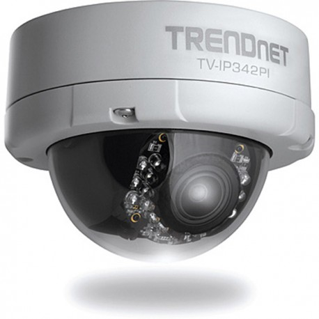 Trendnet TV-IP342PI Outdoor 2 MP Full HD Vari-Focal PoE Day / Night Dome Network Camera