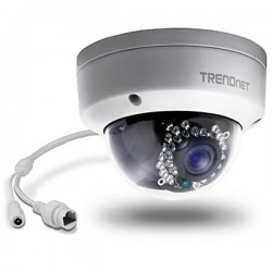Trendnet TV-IP311PI Indoor / Outdoor 3 MP Full HD PoE Dome Day / Night Network Camera