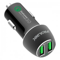 Prolink PCC23601 36W 2-Port Car Charger with IntelliSense
