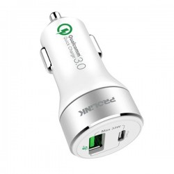 Prolink PCC23301 33W 2-Port Car Charger with IntelliSense