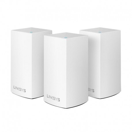 Linksys WHW0103-AH Velop Intelligent Mesh WiFi System 3-Pack White (AC3900)