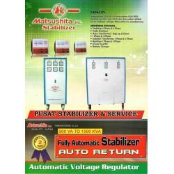 Matsushita R60 Stabilizer 60000 (60 KVA) 48000 Watt 3 Phase