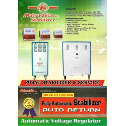 Matsushita R45 Stabilizer 45000 (45 KVA) 36000 Watt 3 Phase