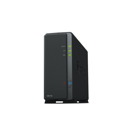 Synology DiskStation DS118 1-bay NAS High-performance