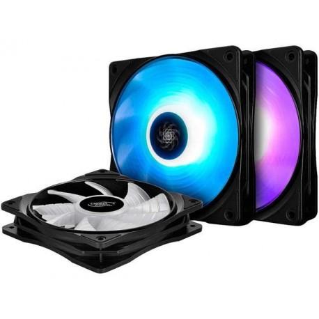 Deepcool RF 120 12CM RGB LED PWM Case Fan