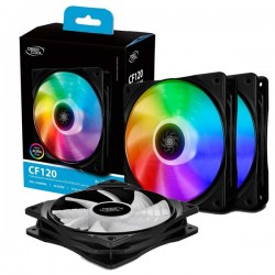 Deepcool CF 120 MB Controlled 120mm A-RGB LED Case Fan