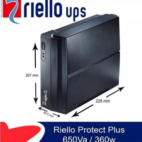 Riello Protect Plus UPS 650Va/360W
