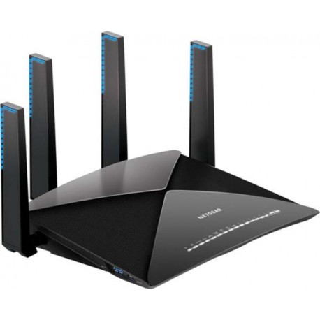 Netgear R9000-100EUS AD7200 Nighthawk X10 Smart WiFi Router for Ultimate 4K Streaming & VR Gaming