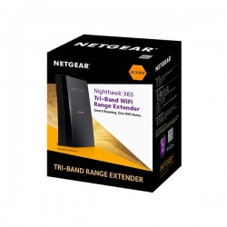 Netgear EX8000-100EUS AC3000 Nighthawk X6S MU-MIMO Tri-Band WiFi Mesh Extender with Smart Roaming