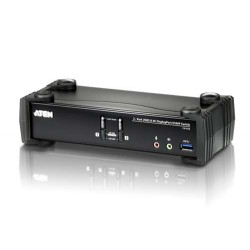 Aten CS1922 2-Port USB 3.0 4K DisplayPort KVMP Switch