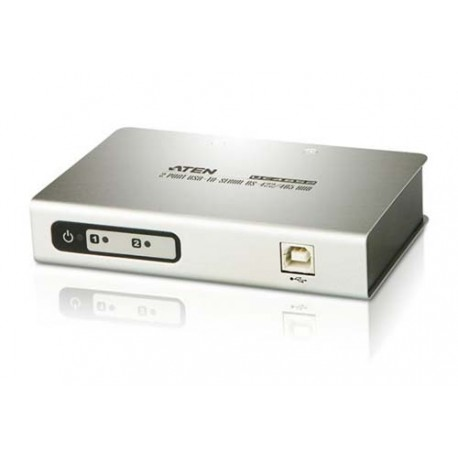 Aten UC4852 2-Port USB to RS-485 or RS-422 Hub