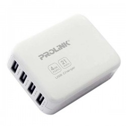 Prolink PCU4041 White USB Charger 4-Port
