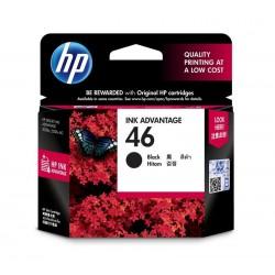 HP 46 Black Original Ink Advantage Cartridge (CZ637AA)