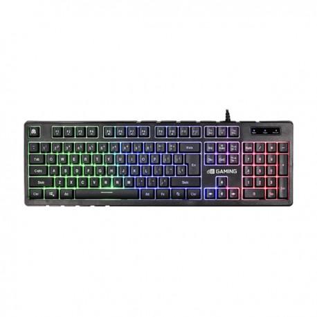 Digital Alliance Gaming Keyboard Black Ruby Rainbow