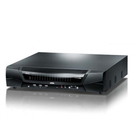Aten KN4164V 1-Local or 4-Remote Access 64-Port Cat 5 KVM over IP Switch with Virtual Media