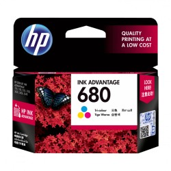 HP 680 Tri-color Original Ink Advantage Cartridge (F6V26AA)