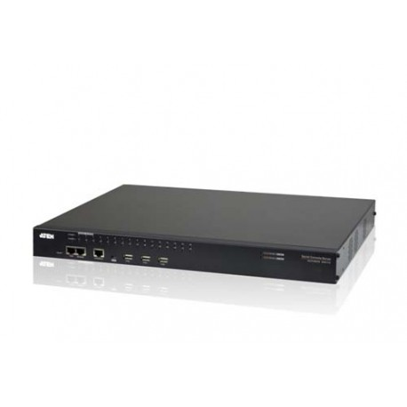 Aten SN0132 32-Port Serial Console Server with Dual Power LAN