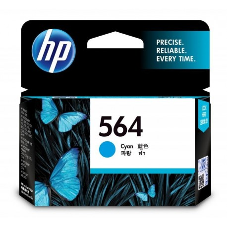 HP 564 Cyan Original Ink Cartridge (CB318WA)
