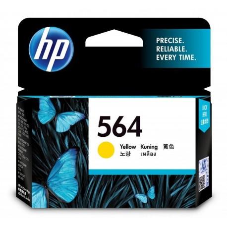 HP 564 Yellow Original Ink Cartridge (CB320WA)