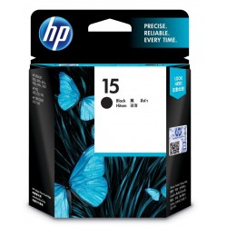 HP 15 Black Original Ink Cartridge (C6615DA)