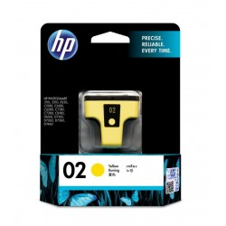 HP 02 Yellow Original Ink Cartridge (C8773WA)