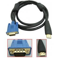 Kabel HDMI to VGA 1.5 Meter