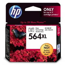 HP 564XL High Yield Photo Original Ink Cartridge (CB322WA)