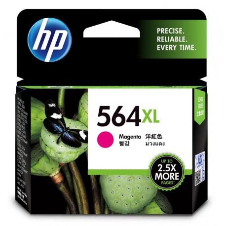 HP 564XL High Yield Magenta Original Ink Cartridge (CB324WA)
