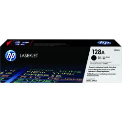 HP 128A Black Original LaserJet Toner Cartridge (CE320A)
