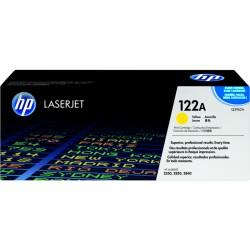 HP 122A Yellow Original LaserJet Toner Cartridge (Q3962A)