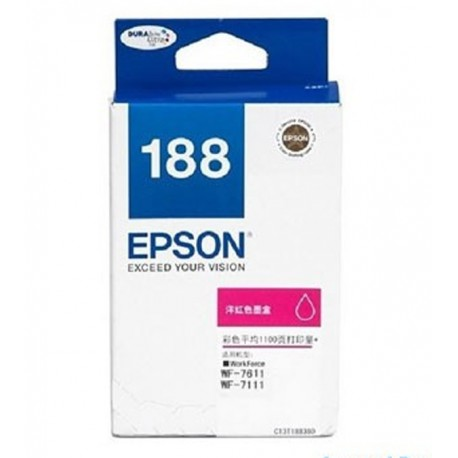 Epson C13T188390 Cartridge Magenta For WF7111/7611 1100 Pages
