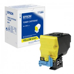 Epson C13S050747 Yellow Standard Capacity Toner Cartridge For AL-C300DN
