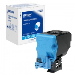 Epson C13S050749 Cyan Standard Capacity Toner Cartridge For AL-C300DN