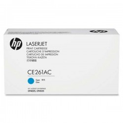 HP CE261AC Cyan Contract Original LaserJet Toner Cartridge