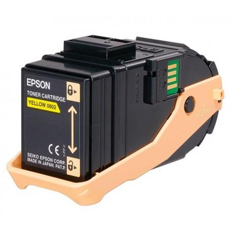 Epson C13S050602 Yellow Toner Cartridge For AL-C9300DN